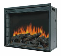"23"" Electric Firebox Insert - with Fan Heater and Glowing Lo"