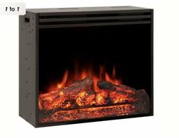"28"" Electric Firebox Insert - with Fan Heater and Glowing Lo"