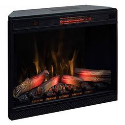 "ClassicFlame 33"" 3D Infrared Quartz Electric Fireplace Inser"