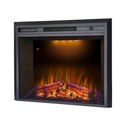 "Valuxhome Houselux 36""  Insert Embedded Fireplace Electric H"