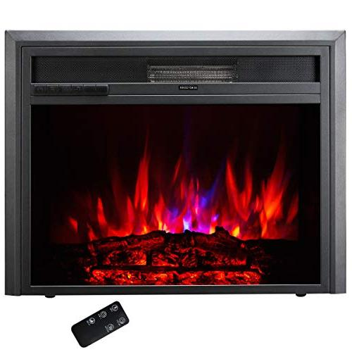 30 embedded electric fireplace insert