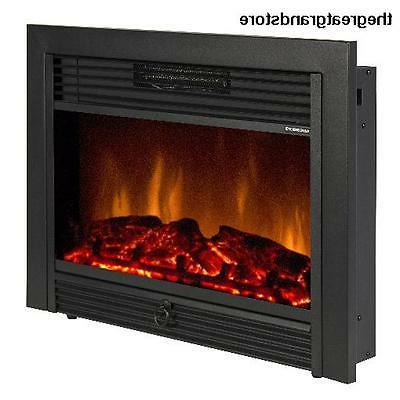 """Best Choice Products 28.5"""" Embedded Fireplace Electric Inser"""