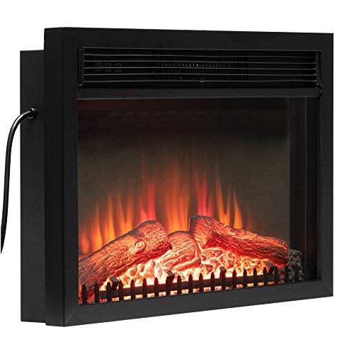Golden Tempered Stove Fireplace Heater w/