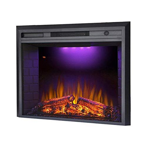 """Valuxhome Houselux 36"""" Embedded Electric Fire"""
