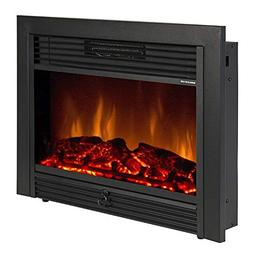 "KUPPET 28.5"" Electric Fireplace Alexa Connectivity, App Cont"